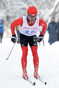 男子10キロクラシカル・佐藤(北村山)が初V 県高校スキー