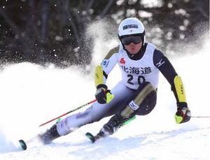 スキー 南・北道高校選手権 相原史郎・太郎ワンツー