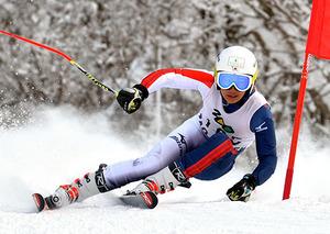 スキー 中山(日大山形)頂点 男子大回転