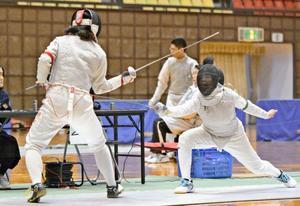 宮南男女敗者復活へ 全九州高校選抜フェンシング