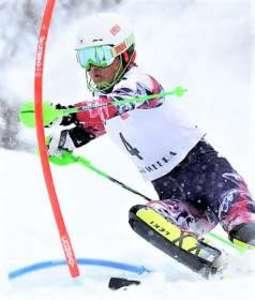 スキー 関東大会 アルペン男子回転 関(沼田)準優勝