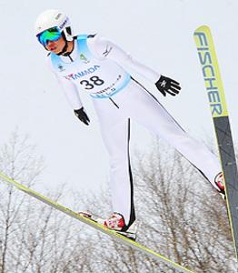 男子ジャンプ、盛岡中央・高橋9位入賞 全国高校スキー