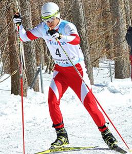 盛岡中央・谷地が複合5位 全国高校スキー