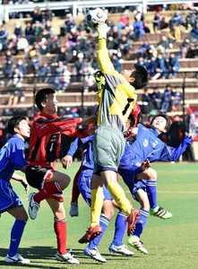男子サッカー・真岡10年ぶり頂点 栃木県高校新人スポーツ