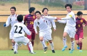 三田学園、鉄壁の守備 兵庫県高校新人サッカー男子