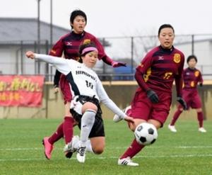 日ノ本、守備強化実る 兵庫県高校新人サッカー女子