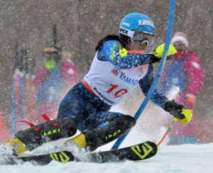 女子回転・松本なのは、高橋莉沙が入賞 全国高校スキー