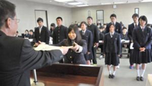 奈良県高体連栄賞授与式 18団体、40個人、11監督