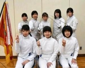 フェンシング 玄界高、全国優勝へ闘志 女子が九州初制覇
