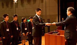 28団体165個人を表彰 宮崎県高体連スポーツ賞