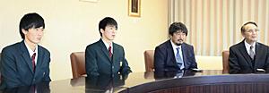 尚志高・加野と松本が新年度躍進へ決意 全国高校サッカー報告