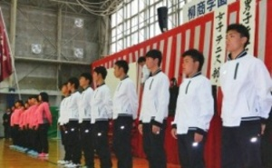 柳川、男女V誓う 20日から全国選抜高校テニス