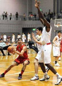 皆実(男子)決勝リーグ1勝 全関西高校バスケ