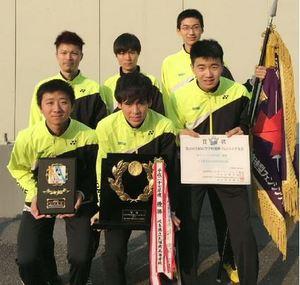 翔青初V、フェンシング男子フルーレ 全国高校選抜大会