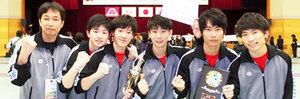 三本松、男子エペV 女子はサーブル準優勝 全国高校選抜フェンシング