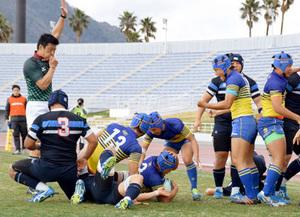 京都成章決勝へ、東海大仰星破る ラグビー近畿高校大会