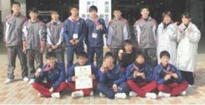 選抜 新体操団体、神埼清明準優勝、佐賀女子9位