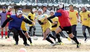 選抜 ラグビー 崇徳、古豪復活に初トライ