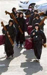 魁星旗高校剣道、29日開幕 錬成会に全国から精鋭