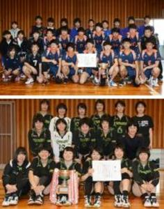 男子は田辺工、女子は熊野がV 春季紀南高校バレー