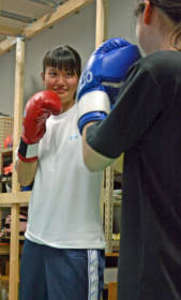 星野萌、館林女子高ボクシング部に入部 女子全国2冠