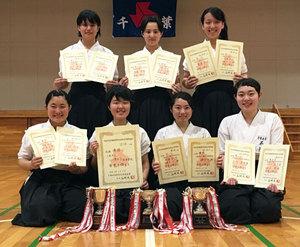 千葉女、4年ぶり3冠 なぎなた千葉県予選