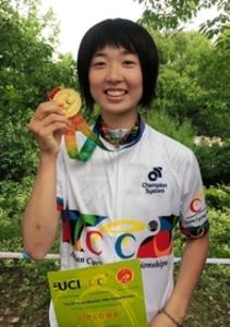 16歳女子高生、マウンテンバイクのアジア王者に