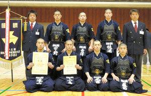 剣道 関東大会千葉県予選 男子は東海浦安、女子は安房が制す