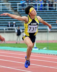 陸上・女子100は青野、男子は斎藤頂点 山形県高校総体