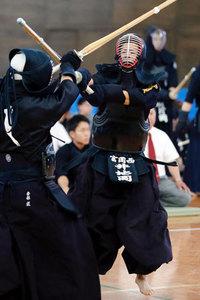 剣道・男子は富岡西、女子は富岡東がV   徳島県高校総体