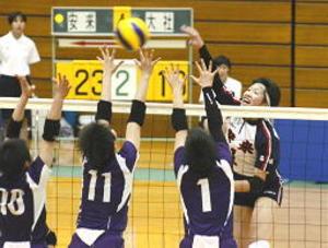 バレー安来女子33度目栄冠、男子も制す 島根県高校総体
