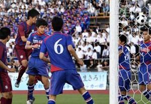 サッカー京都橘V、2年連続本大会へ IH京都府予選