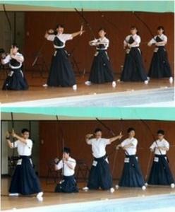 総体 徳島大会 弓道女子で富岡西、初の栄冠