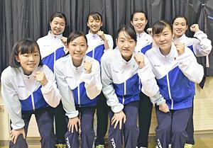 学校対抗はふたば未来が男女優勝 福島県高体・バドミントン