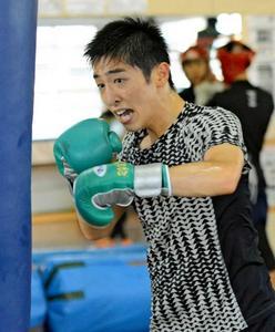 中垣(日章)フライ級代表 ボクシングアジアユース