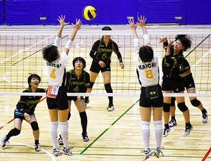 バレー、熊野女子が3位 和歌山県高校総体