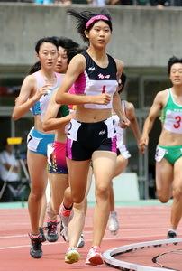 陸上女子七種競技、佐伯制す 全九州高校大会
