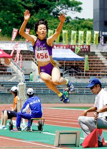 陸上七種競技、石橋が四国高校新 四国高校選手権