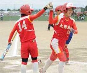 ソフトボール、大田原女2年ぶりV 栃木県高校総体