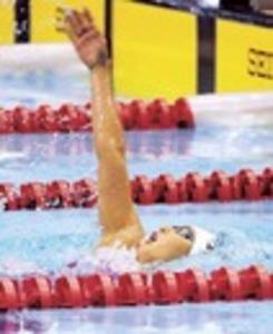 競泳・女子200背、樋口リレーの雪辱 静岡県総体