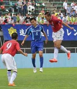 サッカー、真岡4年ぶり王者 栃木県高校総体