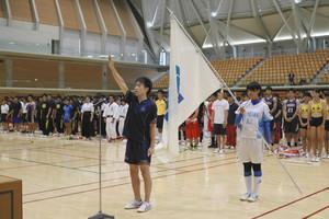 総体 石川県選手団の壮行式624人