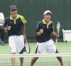 ソフトテニス、新沼・斎藤組が4回戦へ 南東北高校総体