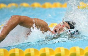 辰巳が2位、男子200自 競泳近畿高校選手権