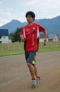 総体 陸上5000競歩 小野(富良野1年)出場 父指導で頭角