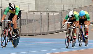 総体 紫波総合、自転車で予選トップ