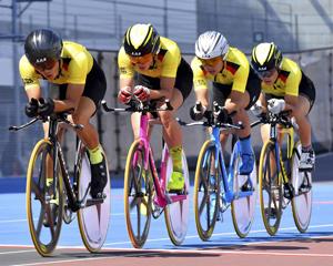 白河実が準V 自転車男子団体追い抜き、南東北高校総体