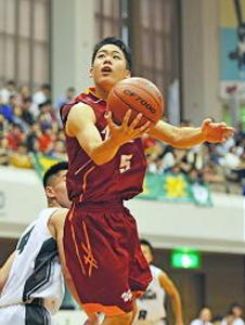 バスケットボール、島根勢初戦突破 南東北高校総体