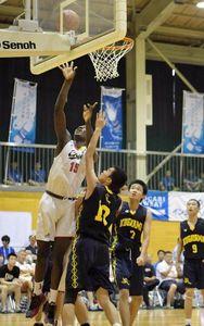 バスケ男子、高知中央が競り勝つ 高校総体開幕