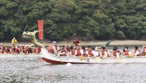 高校生180人がカヌーで熱戦 高知・須崎市で「ドラゴン甲子園」